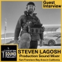 Artwork for 091 Steven Lagosh - Production Sound Mixer based out of the San Francisco Bay Area in California