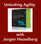 Artwork for Unlocking Agility with Jorgen Hesselberg