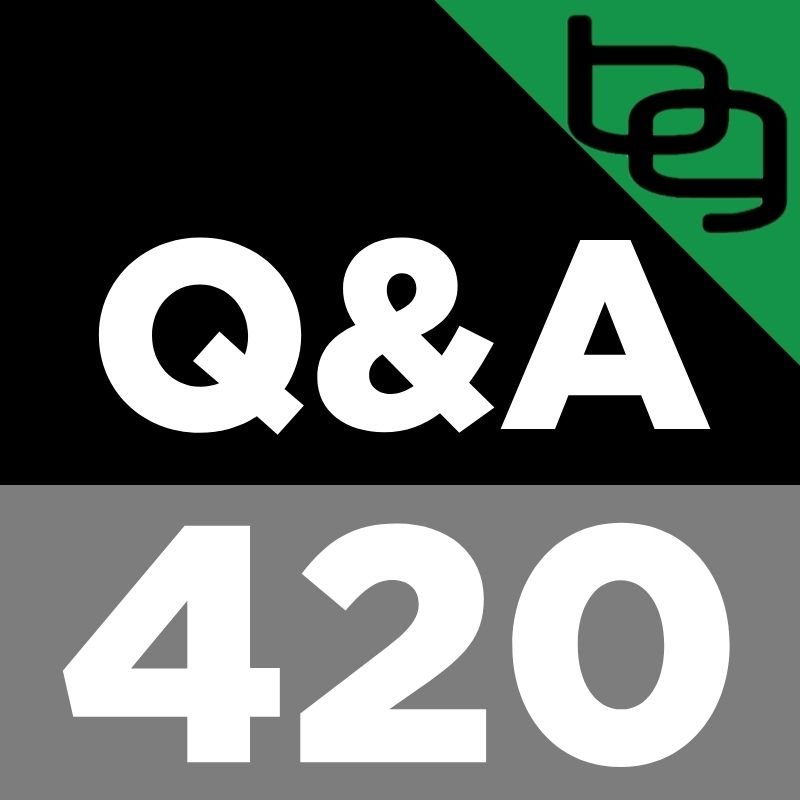 Q&A 420: Which Stimulants Are Safe To Take At Night, Maximizing Benefits Of Cold Thermogenesis, When To Do Blood Flow Restriction Training & More!