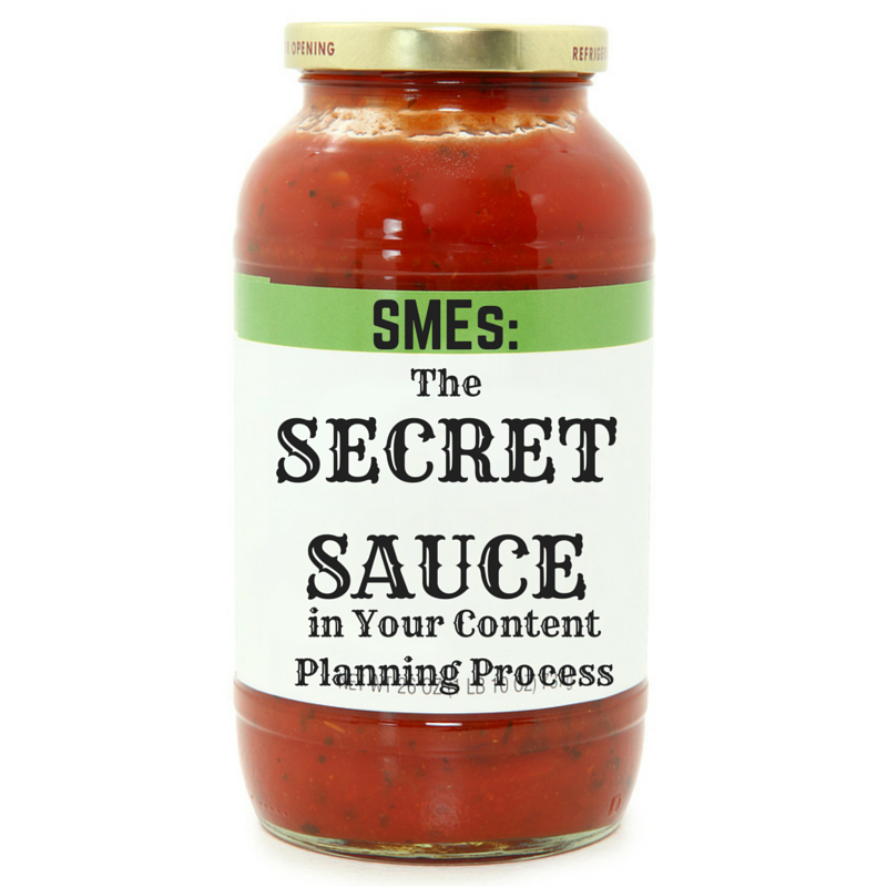 Content Marketing Podcast 122: SMEs: The Secret Sauce in Your Content Planning Process