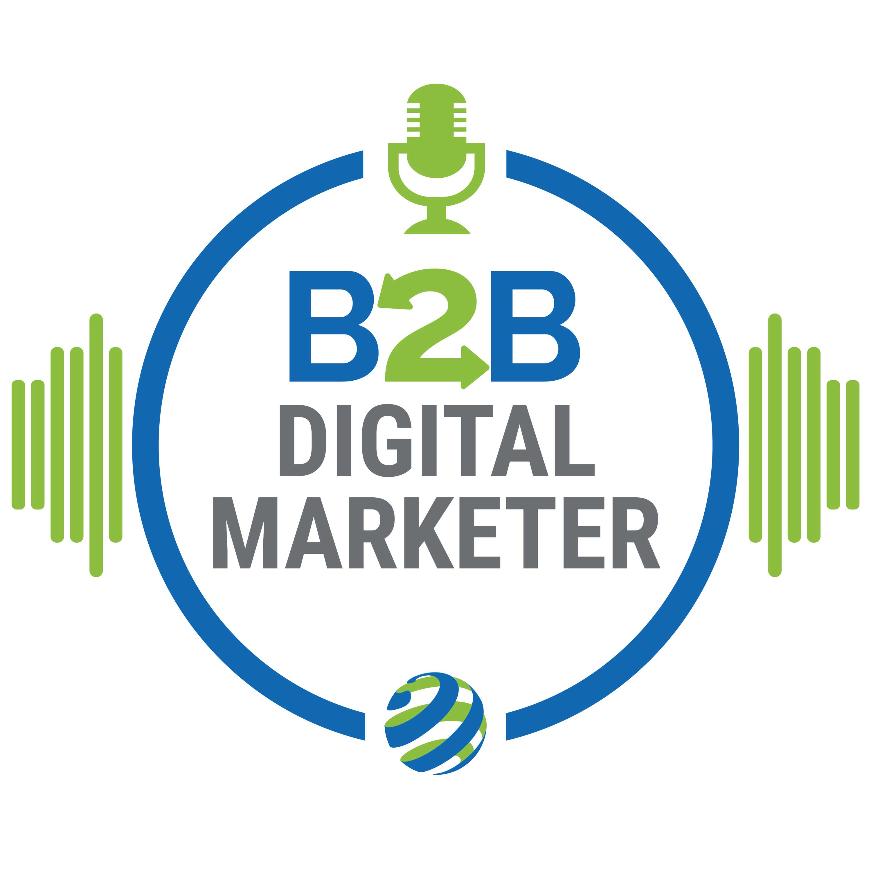B2B Digital Marketer show art