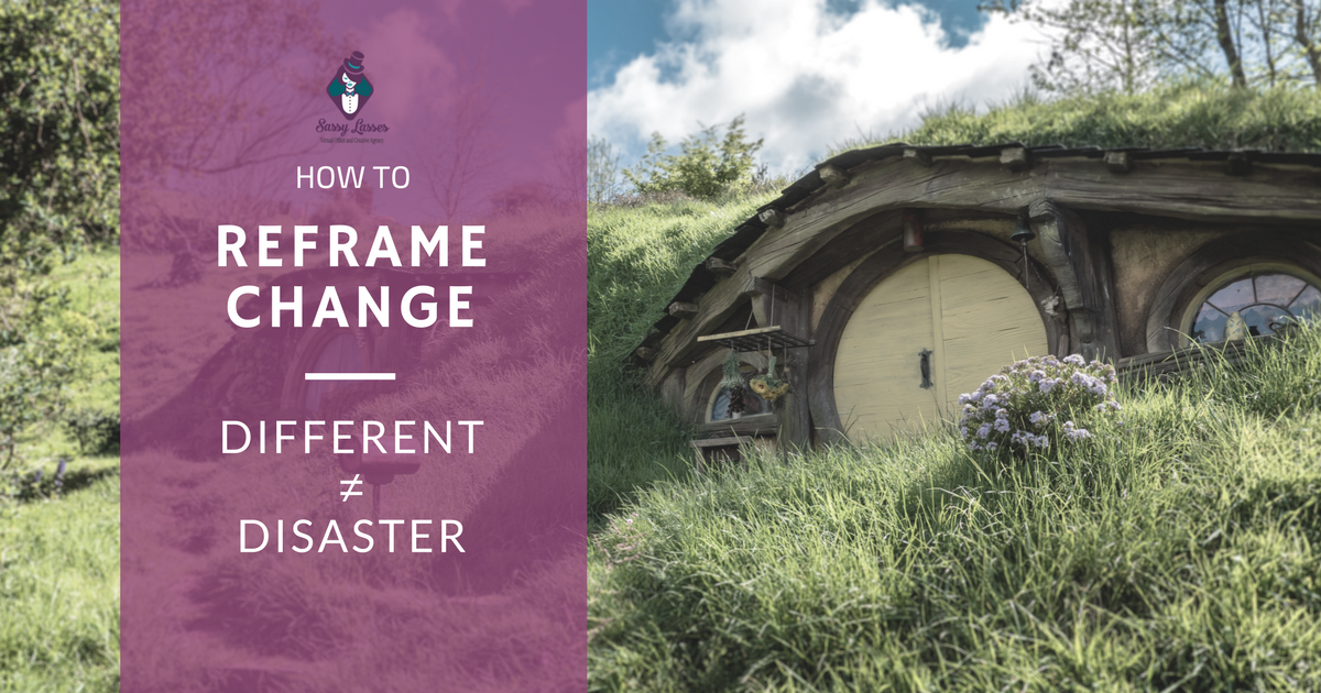 Artwork for  How to Reframe Change: Different ≠ Disaster