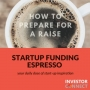 Artwork for Startup Funding Espresso - How to prepare for a raise