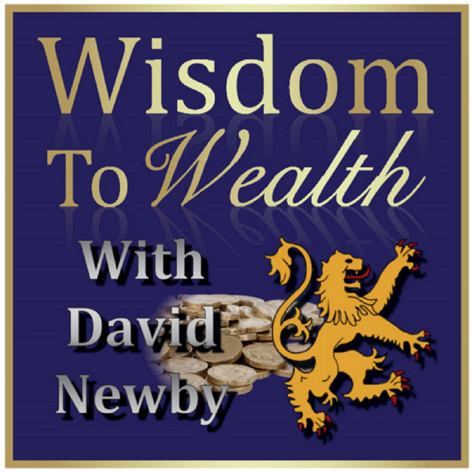 Wisdom To Wealth podcast show art