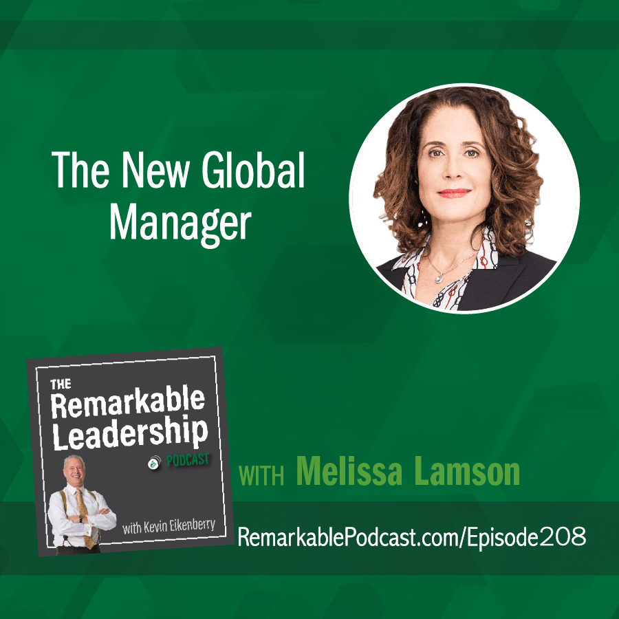 The New Global Manager with Melissa Lamson show art