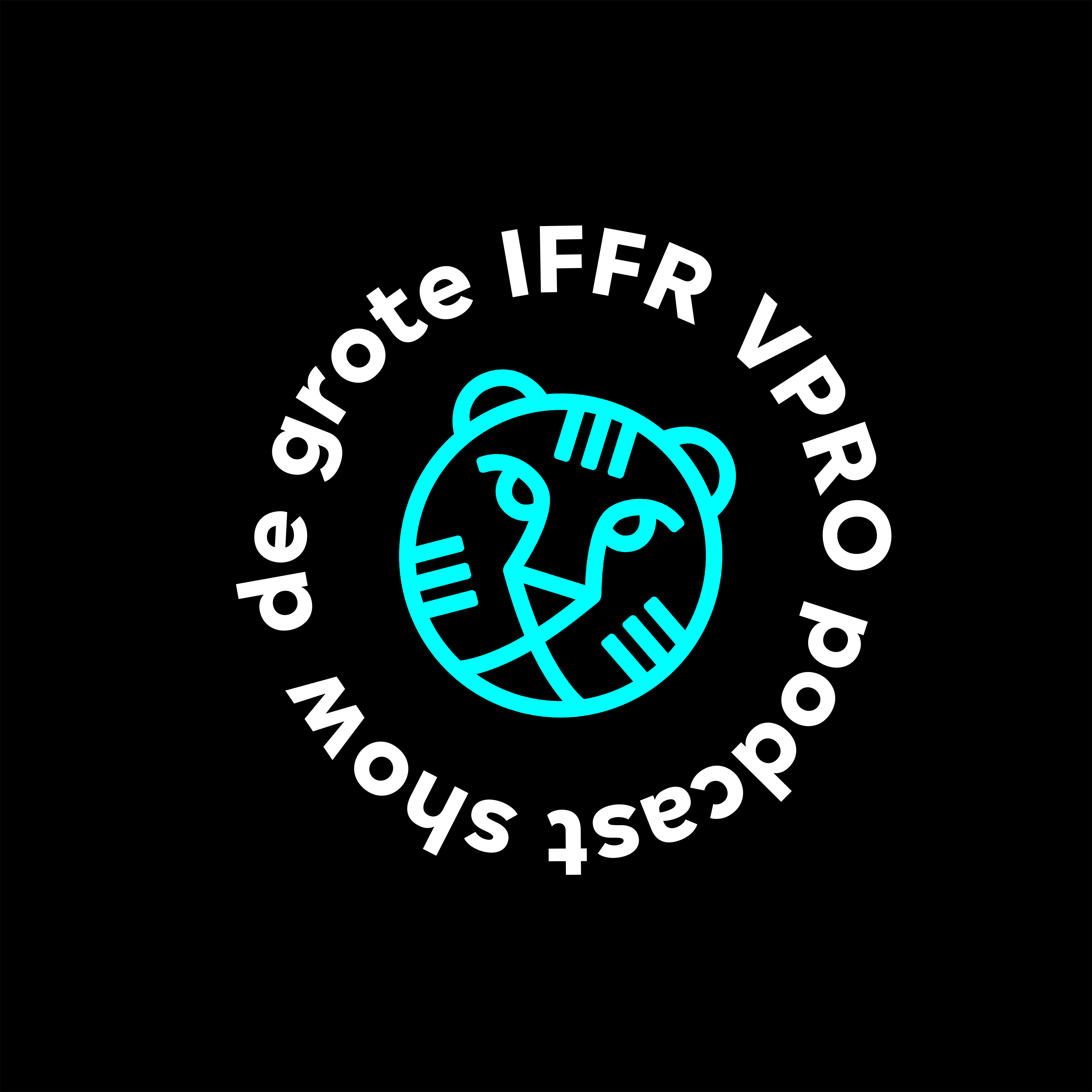 De Grote IFFR VPRO Podcast Show show art