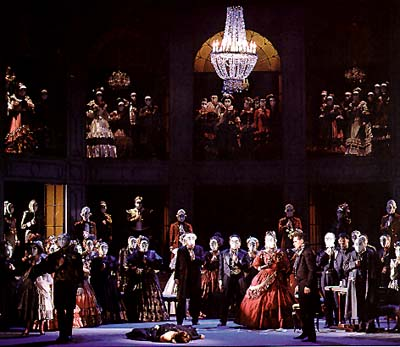 La Traviata Finale of Act Three