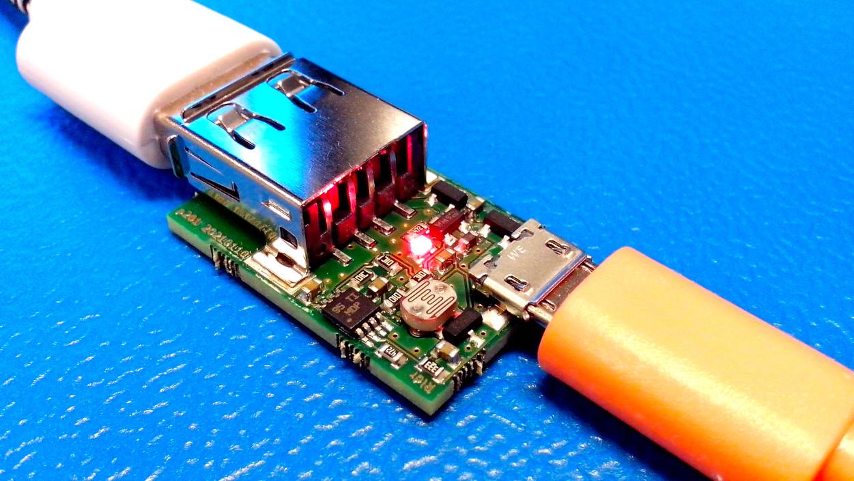 LDR USB power switch board...