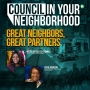 Artwork for Great Neighbors Great Partners w/ Councilwoman Easter-Thomas & Ms. Ephie Johnson | Council In Your Neighborhood | KUDZUKIAN