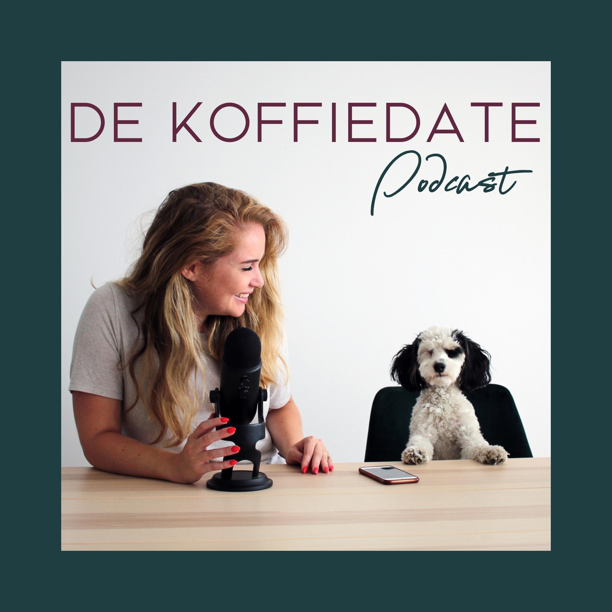 koffiedate podcast show art