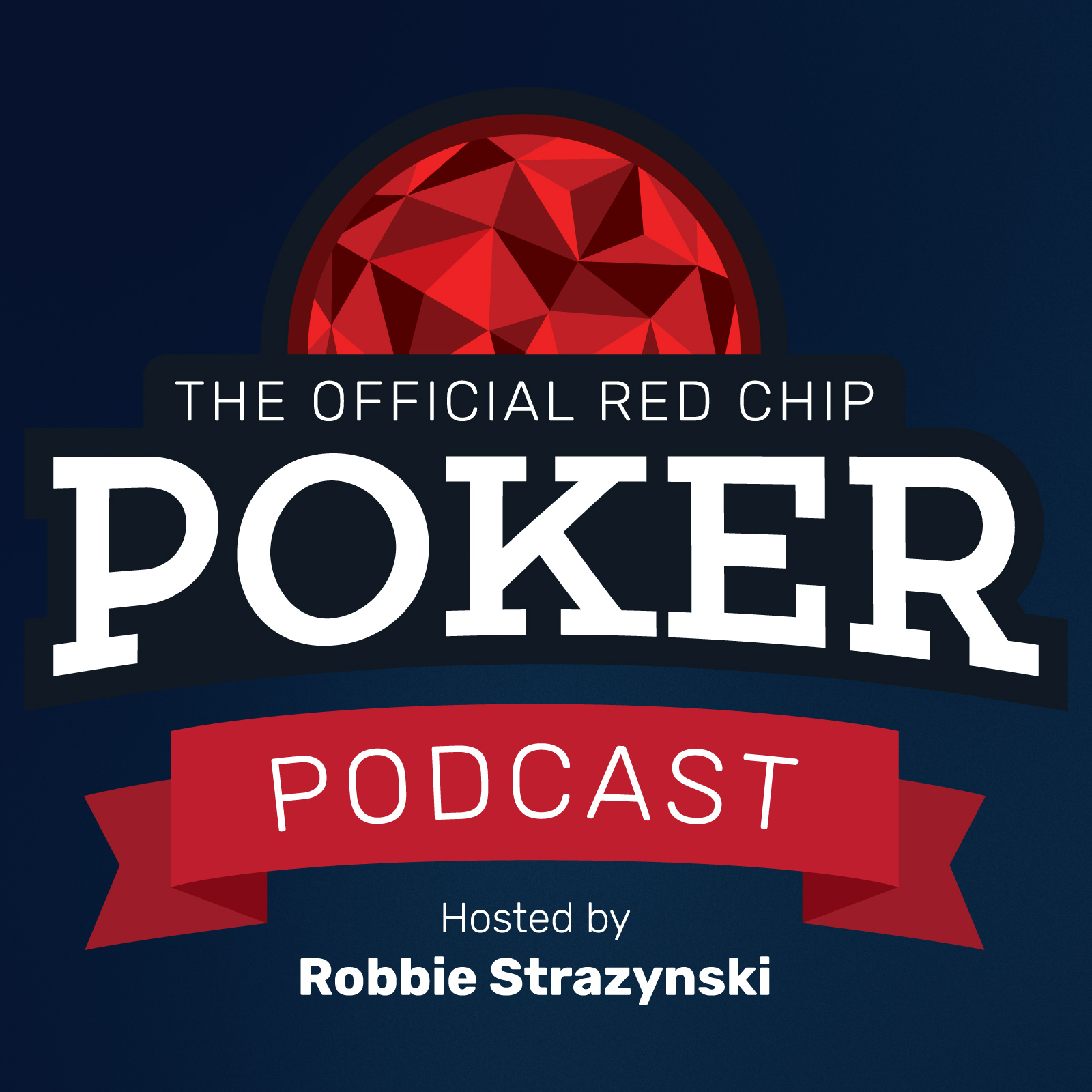 The Official Red Chip Poker Podcast show art