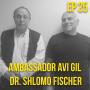 Artwork for Ambassador Avi Gil  and Dr. Shlomo Fischer: Israeli Elections Aftermath