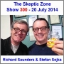 Artwork for The Skeptic Zone #300 - 20.July.2014