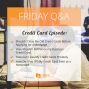 Artwork for 586-Friday Q&A (Credit Card Edition): Should I Close My Old Credit Cards Before Applying for a Mortgage, How Should I Refinance my Business Credit Card, How Can I Use My Credit Cards Privately, How Do I Pay Off My Credit Card Debt as a Newlywed