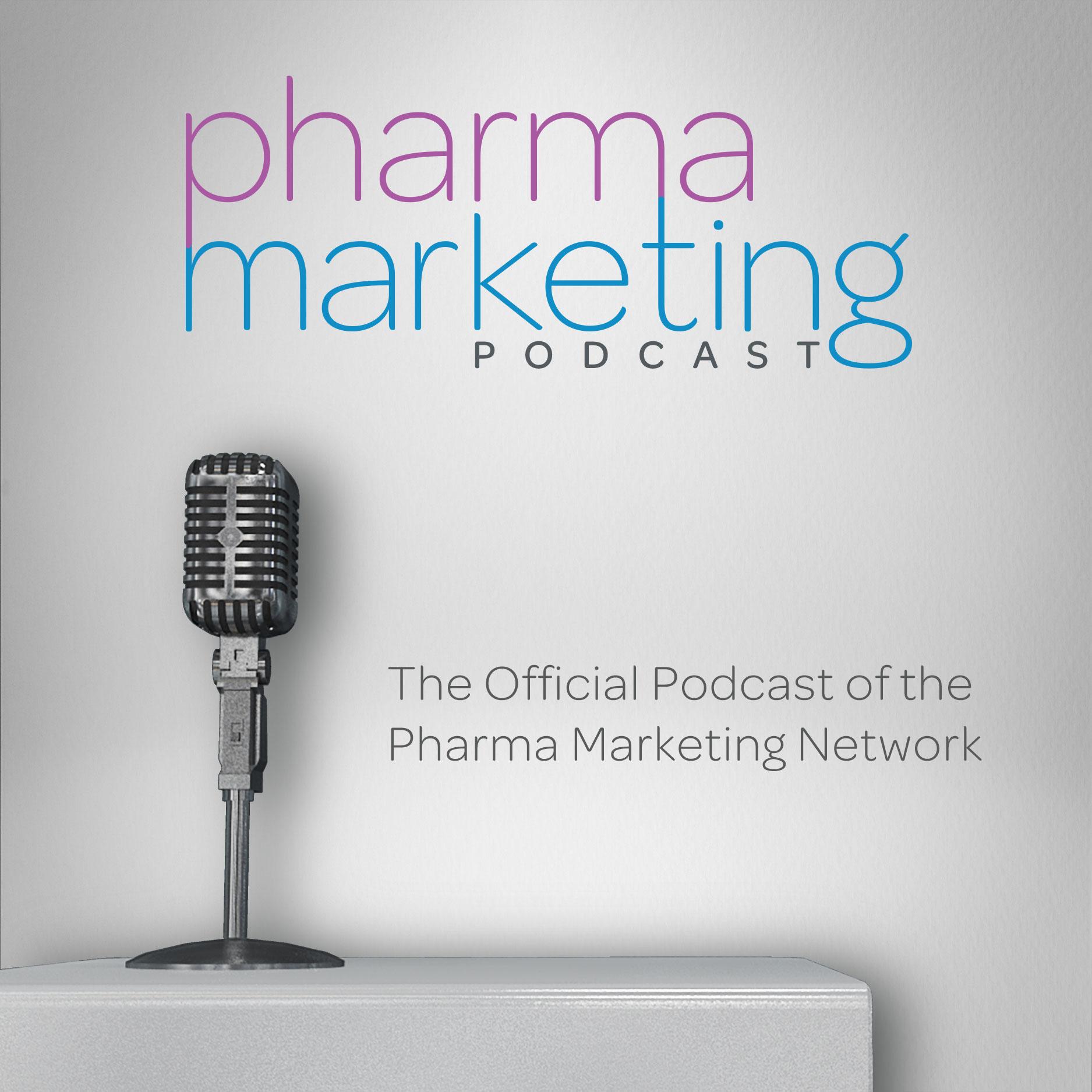 The Pharma Marketing Podcast show art