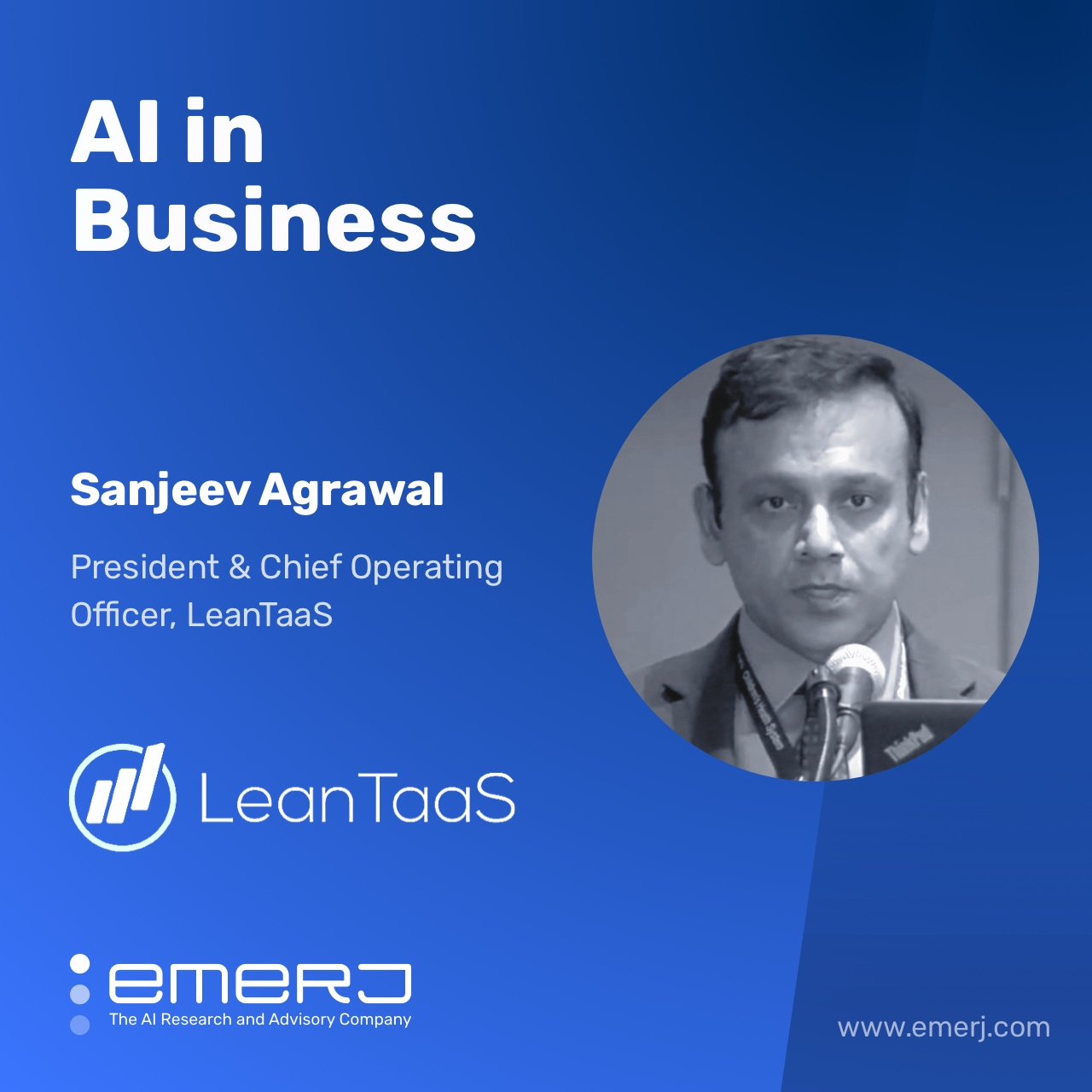 Matching Supply and Demand to Improve Healthcare in 2021 - with Sanjeev Agrawal of LeanTaaS