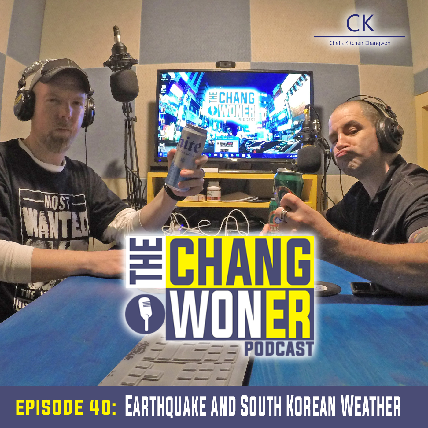 Artwork for EARTHQUAKES in Korea and South Korean Weather. (Ep 40)
