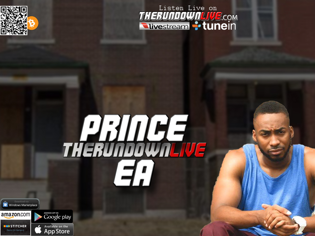 The Rundown Live #357 Prince Ea (Words,Love,Police,Aliens)