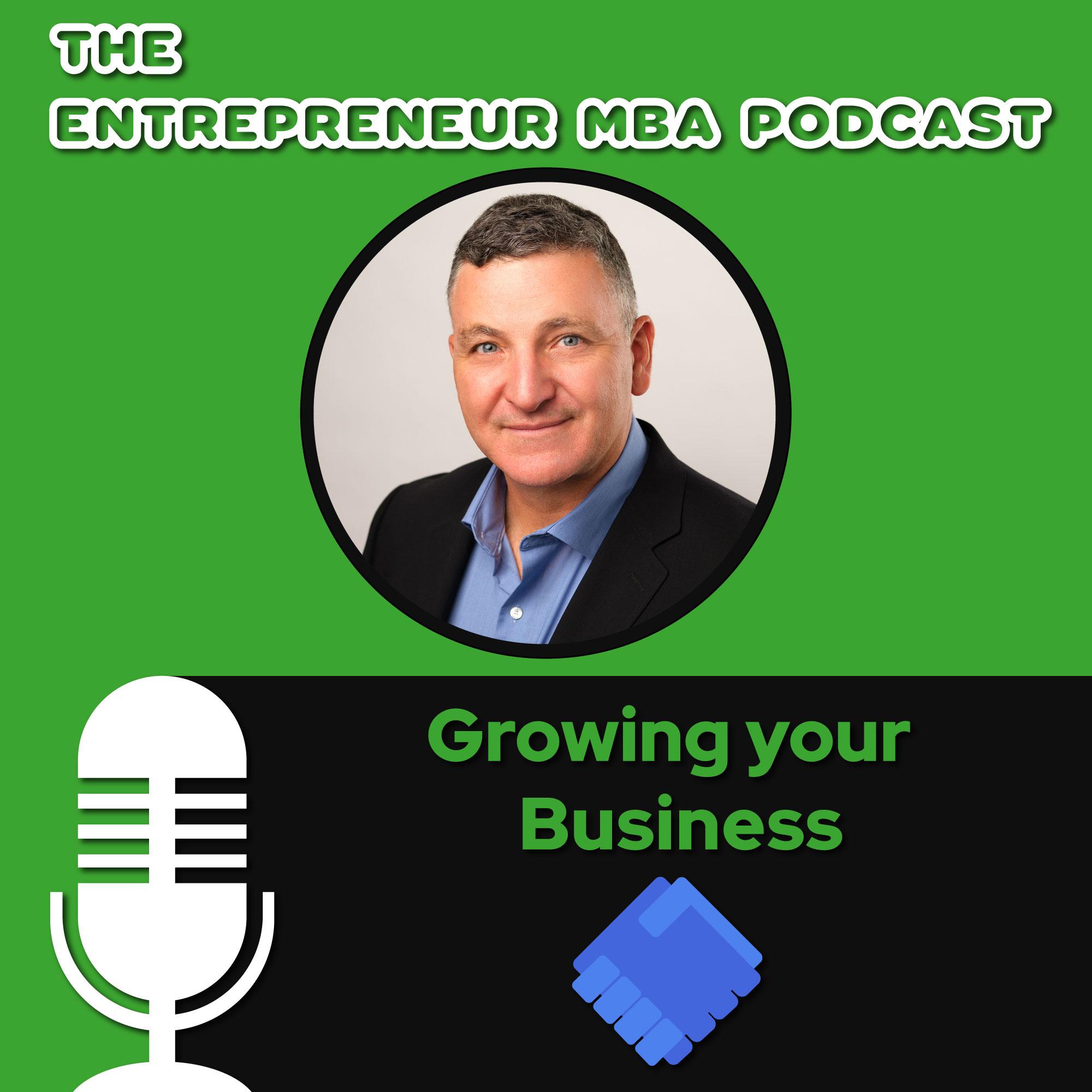 Entrepreneur MBA show art
