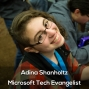 Artwork for Adina Shanholtz Microsoft Tech Evangelist