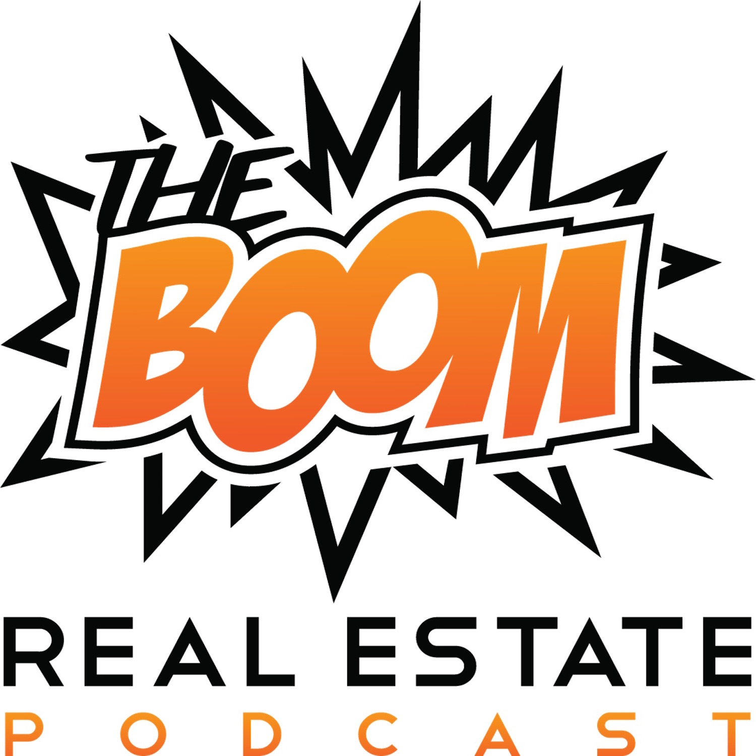 The Boom Real Estate Podcast logo