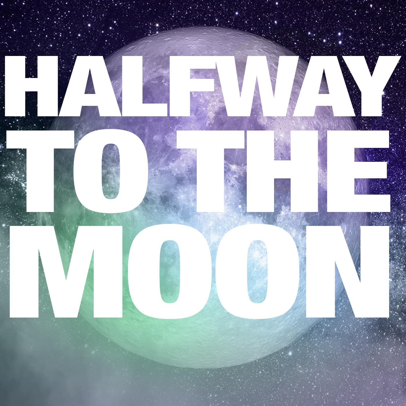 Halfway to the Moon show art