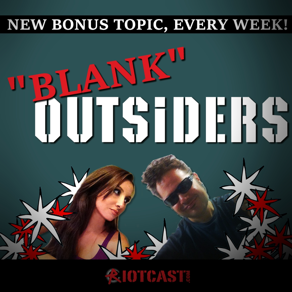 Artwork for BLANK Outsiders - Xbox, PS, and Nintendo Reddit