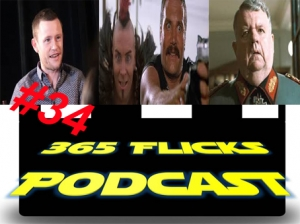 365Flicks #34 Newcastle Film & Comic Con. Walking Dead Talking Heads S06E14, Top5 Arnie Flicks, Chris Reviews Turbo Kid