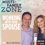 Artwork for Top Tips On Working With Your Spouse W/ Gino and Julia Barbaro