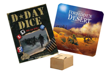 Show #28: Forbidden Desert, and D-Day Dice