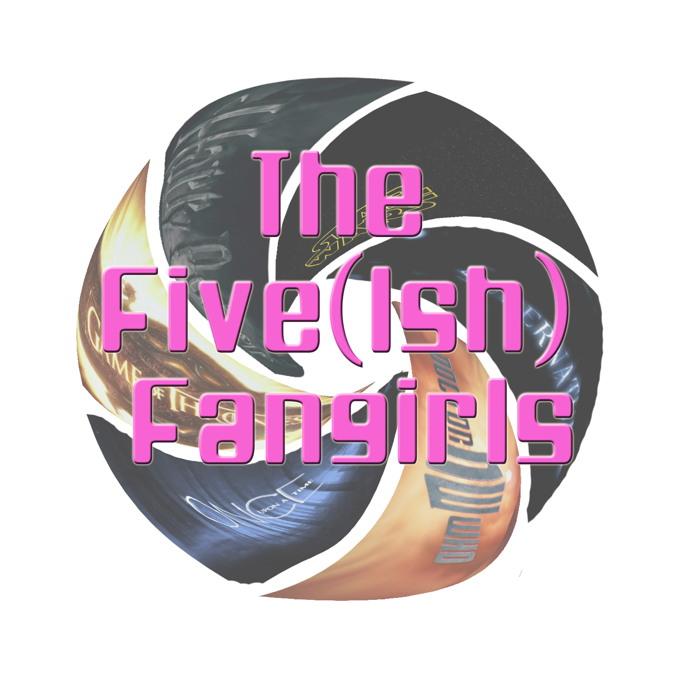 Artwork for Five(ish) Fangirls Podcast Trailer