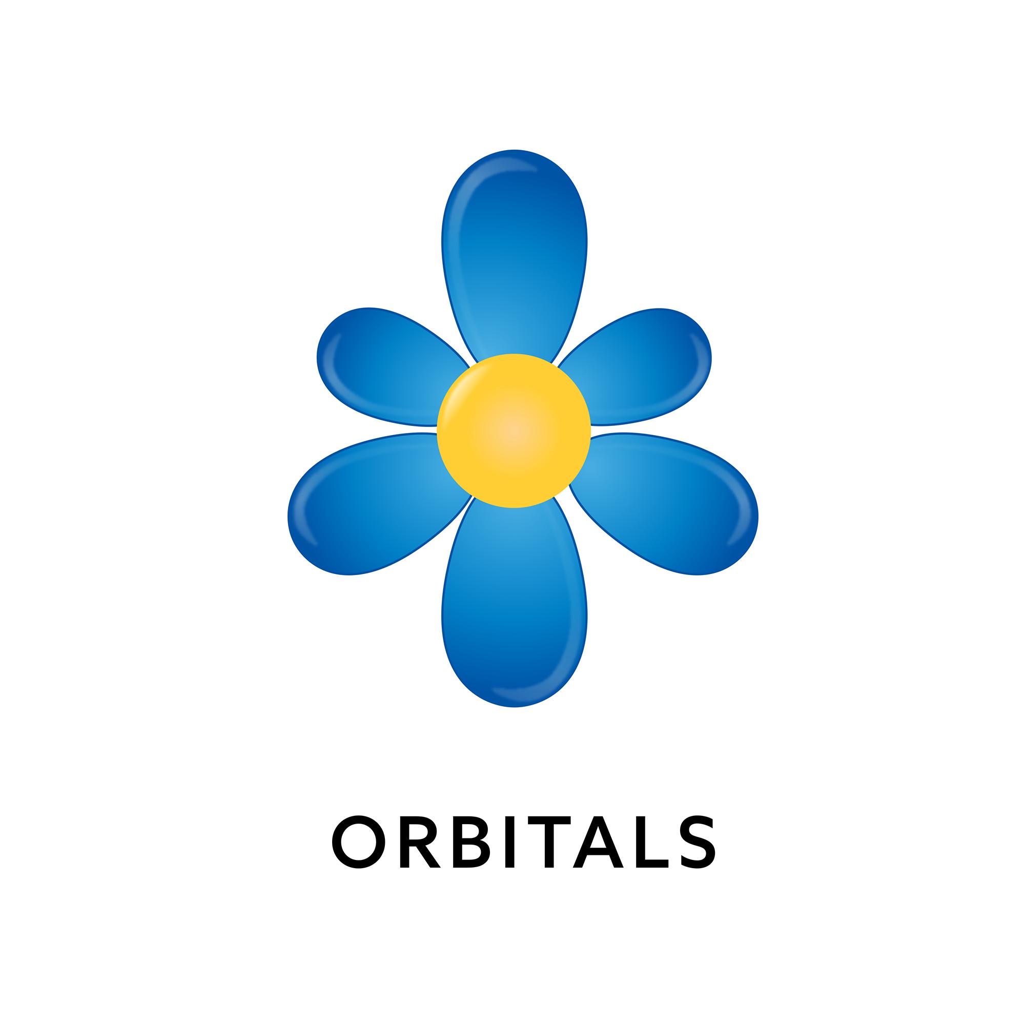 Orbitals show art