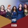 Artwork for 119: Warrior Women of Star Trek (STLV 2019)