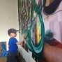 Artwork for Episode #101:  L.A. artist Joshua Dildine (when your kid paints on your painting)