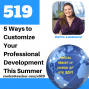Artwork for 5 Ways to Customize Your Teacher Professional Development This Summer