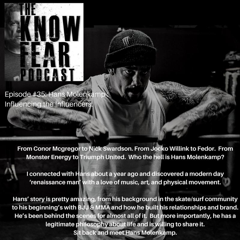 KNOW FEAR with Tony Blauer: Hans Molenkamp
