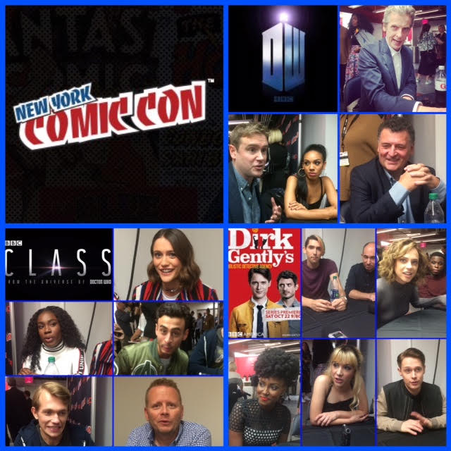Episode 727 - NYCC: Doctor Who w/ Peter Capaldi/Steven Mofffat/Pearl Mackie/Dirk Gently cast & creatives/Class cast/creatives!