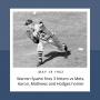 Artwork for Warren Spahn beats Mets on 3 Hitter, Aaron, Mathews and Hodges homer