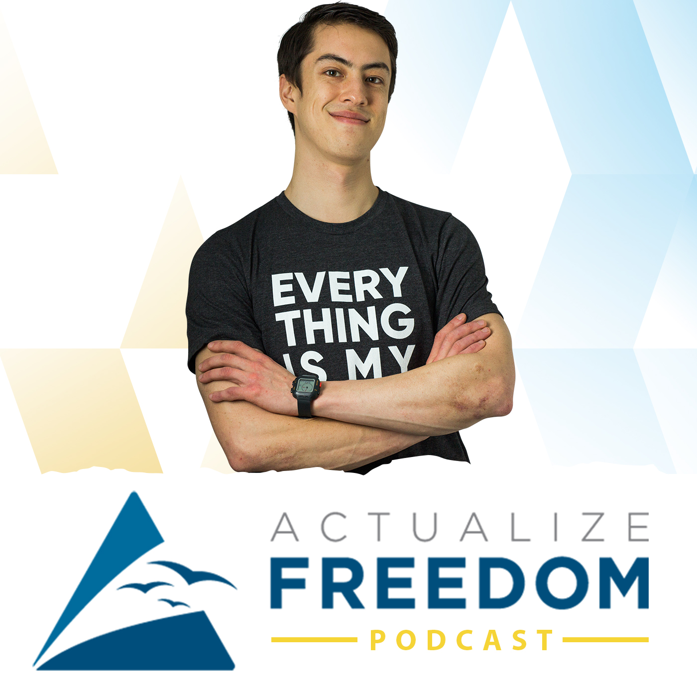Actualize Freedom | Amazon FBA with Danny Carlson | Private Label Ecommerce Selling on Amazon show art