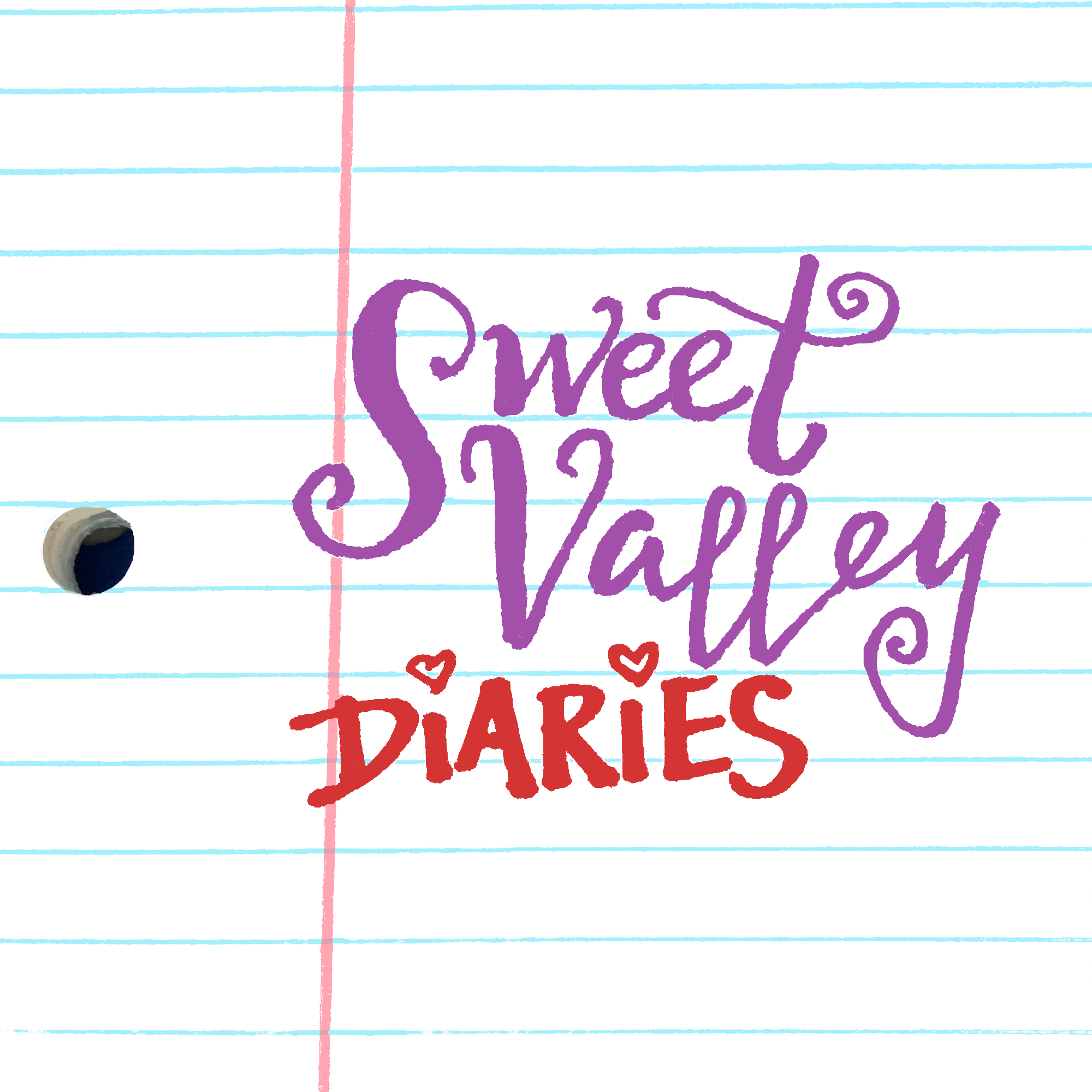 Sweet Valley Diaries show art