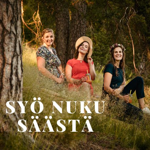 SYÖ NUKU SÄÄSTÄ show art