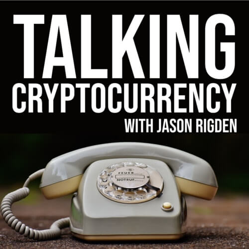 Talking Cryptocurrency show art