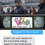 Artwork for Text Message Theatre: Captain America: Civil War