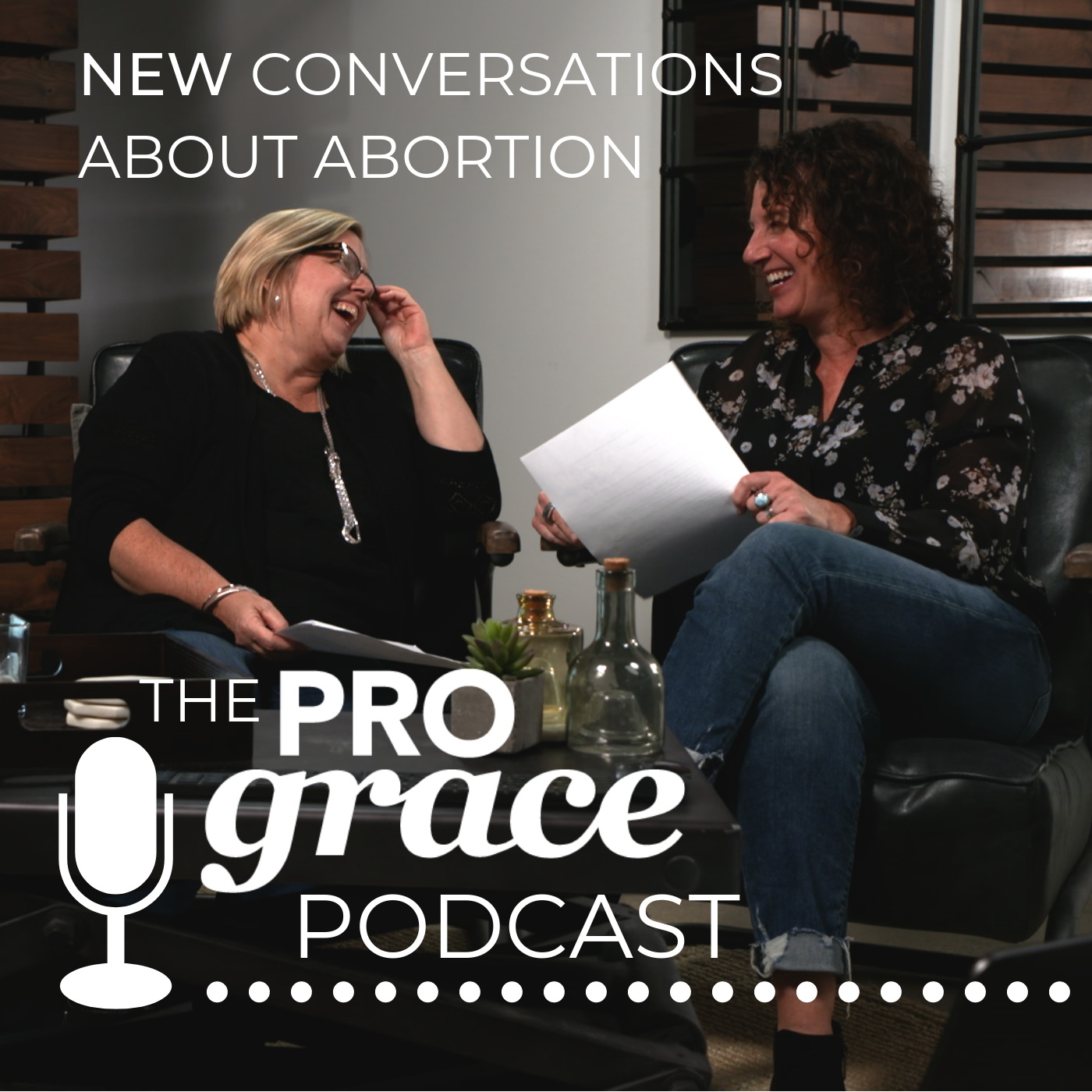 New Conversations About Abortion: The ProGrace Podcast show art