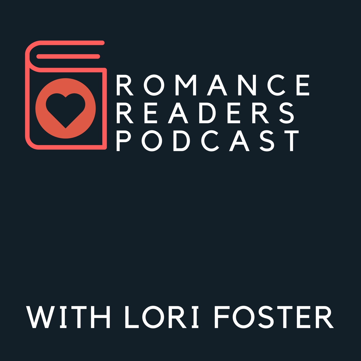 Romance Readers Podcast With Lori Foster show art
