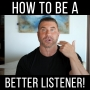 Artwork for MY SECRETS TO BECOMING A BETTER LISTENER!