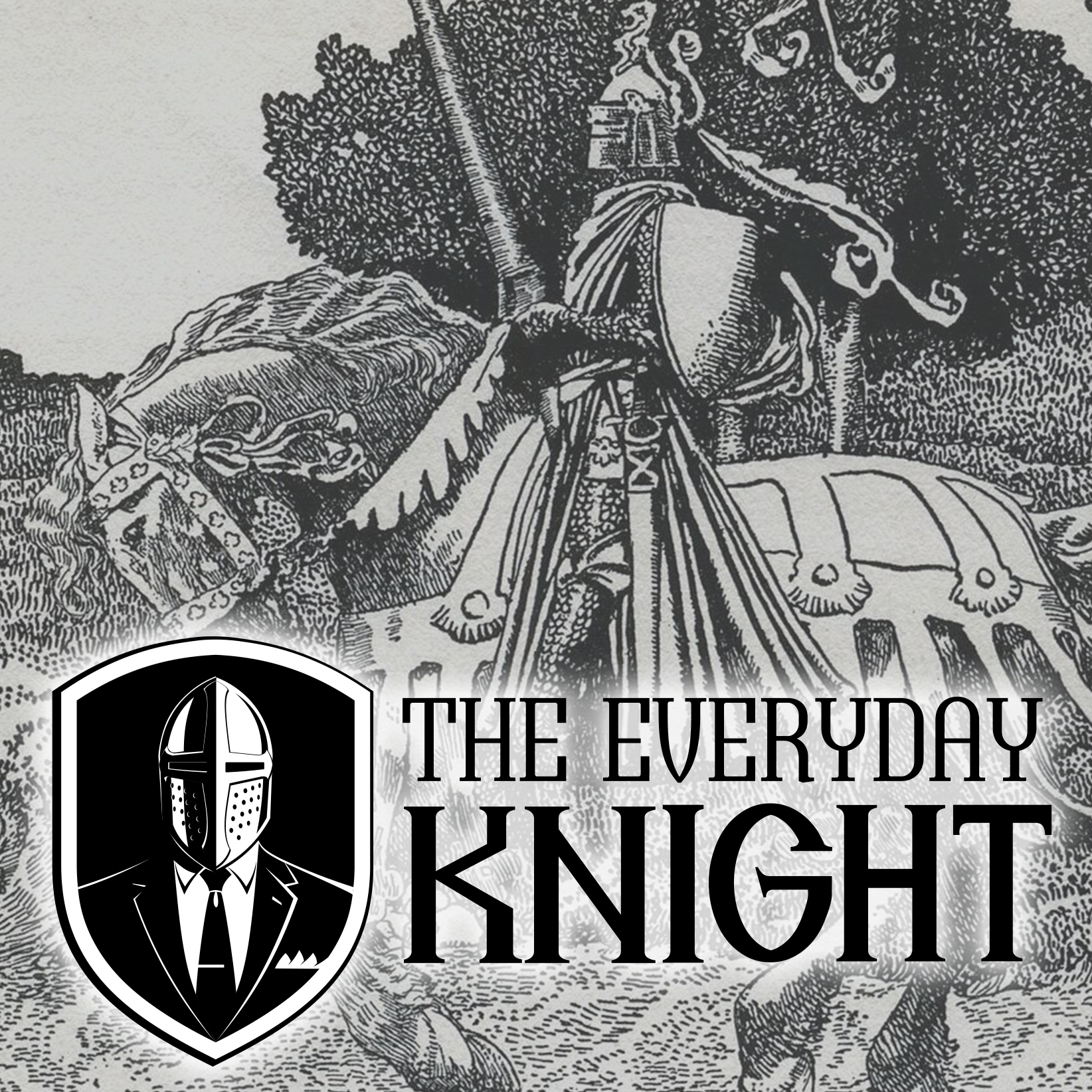 The Everyday Knight show art