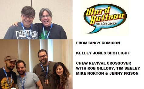Word Balloon Kelley Jones Rob Gillory Tim Seeley Mike Norton Jenny Frison