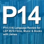 Artwork for P14 [1/4] Language Review for LEP576 Talking about Comedy, Music and Books with James