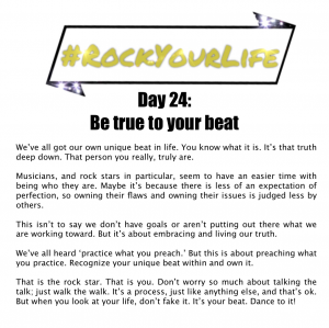 DAY 24 #RockYourLife!
